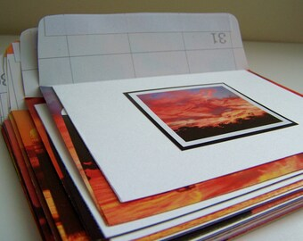 Sunsets Stationery Recycled Calendar