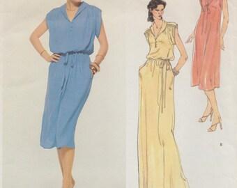 Vogue 1915 / Vintage Designer Sewing Pattern By Leo Narducci / Size 12 Bust 34