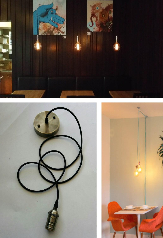 Custom Pendant Light Hanging Light Vintage By HangoutLighting
