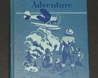 1953 TEACHERS EDITION Wings to Adventure - 6th grade GINN Basic Reader