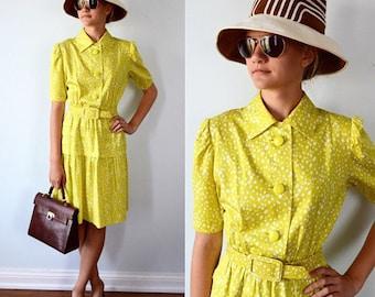 Vintage Dress, Vintage Designer Dress, 1960s Dress, Givenchy, Givenchy Nouvelle Boutique, Designer Shirt Dress, 1960s Givenchy