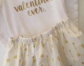 Valentines Day Outfit; Baby Girl Outfit; Valentine's Day outfit; valentines dress