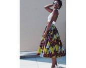 Nia printed Skirt