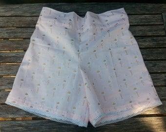 Tween Pink Flamingo Shorts by OSoDarling!