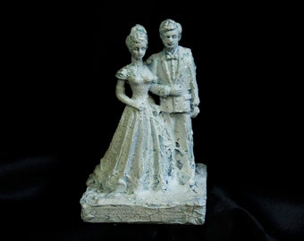 Frozen Bride and Groom Cake Topper