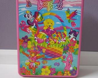 Lisa Frank Collector Tin Box - Easter Spring Theme