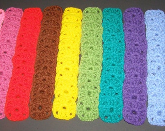 """100 Crochet  Centers For Granny Squares 1.5"""". Afghan starter supplies, crochet circle appliques."""