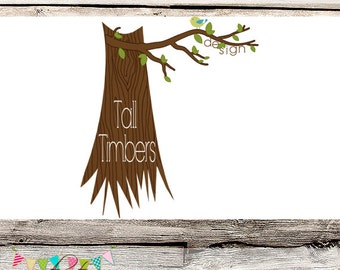 FULLY CUSTOMISABLE - Premade Logo - Tall Timbers Designs - Photography - Branding - Etsy Logo - Watermark