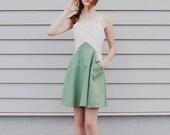 Wattle Dress- Handmade by Alice