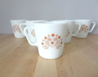5 Pyrex Mugs Summer Impressions