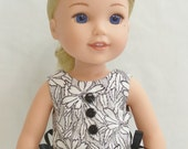 "Party Dress:  For 14.5"" Dolls Such As WellieWishers"