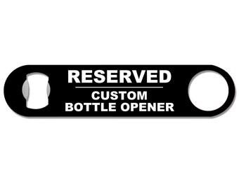 Reserved Listing - Beer Bottle Opener BO-9999