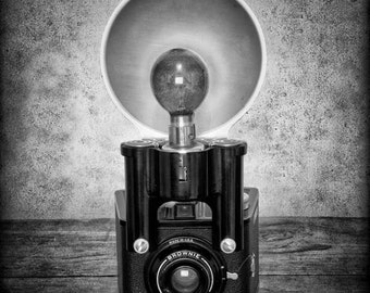 Brownie Camera Print - Camera Art - Brownie Photo Print - Fine Art Photograph - Brownie Art - Vintage Camera Print
