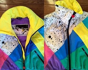 Vintage 90's Mistral Snow Ski Suit