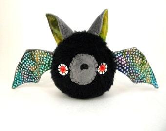 Stuffed Bat Stuffed Animal Cute Plush Toy Bat Kawaii Plushie Gothic Plush Snuggly Cuddly Faux Fur Halloween Toy