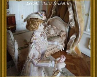 Sidonie, dollhouse doll lady