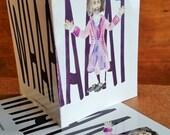 Hamilton Greeting Card - Thomas Jefferson - WHAAAAT - Funny Card - Blank Greeting Card - Funny Friend Card