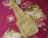 Vintage Crochet Reticule Purse