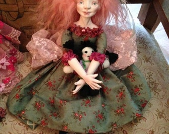 Rosalie Lattice, a Ribbons and Lace Dolly
