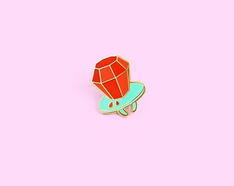 Ringpop Candy Lapel Pin - Button