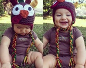 Crochet Turkey Hat 6-12 months