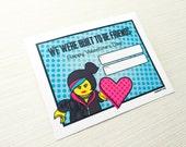 Valentine Collection. BLOCK GIRL. DiGITAL DOWNLOAD. DiY Printable Design. Pinkadot Shop