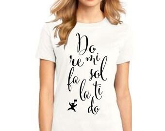 DM104L Do Re Mi  shirt