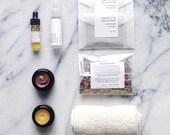 mini facial kit - sample set, travel set, testers, organic skin care