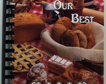 Grace United Church Of Christ Cookbook Columbiana Ohio Sharing Our Best 1992 SC/SB