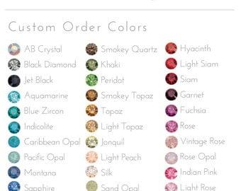 Crystal Custom Colors