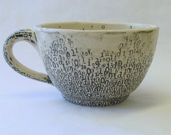 Binary Soup or Noodle Mug v3.0  22oz 650ml