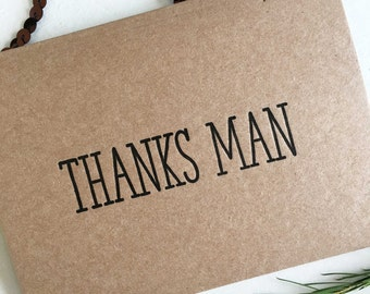 Thank You For Being My Groomsman Card - Groomsmen Thank You Cards - Groomsman Gifts - Best Man Gift - Best Man Thank You Cards - Thank You