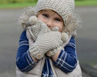 CROCHET PATTERN-Pomleigh Set (Toddler, Child, and Adult sizes)