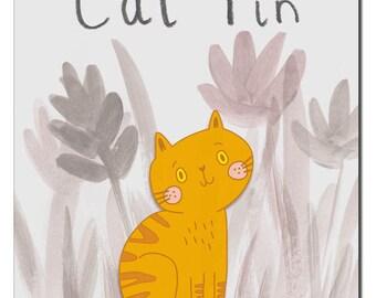 Ginger Tom Cat Enamel Pin **PRE-ORDER**