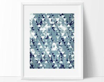 triangle art, abstract triangles, Graphic art, neutral colors, geometric art, circles, modern painting, abstract painting
