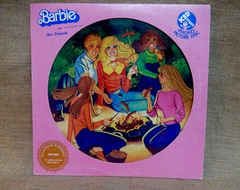 Barbie - Barbie and Her Friends - 1981 Vintage Vinyl Record Album...Limited Edition...Collectors Series