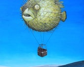 Pufferfish Hot Air Balloo...