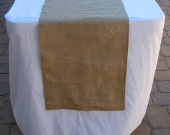 Burlap Table Runner, EXTRA LONG Runner, Wedding, Shower, Party, Custom Sizes Available