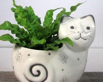Cat Planter ready to ship
