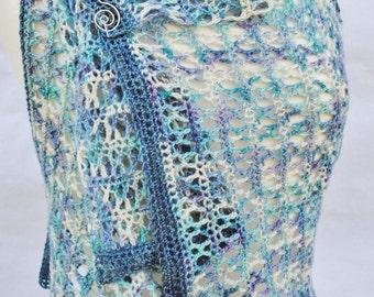 Crochet Vest Pattern Tidal Shoals Hooked pdf instant download