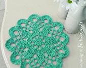 Mandala doilies Crochet pattern or Tarn Rug PDF - beginner easy crochet pattern - INSTANT DOWNLOAD