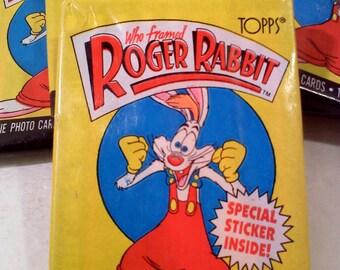 Who Framed Roger Rabbit Trading Cards