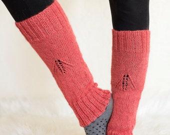 Woman's Leg Warmers Pattern - Knit Leg Warmers Pattern - Leg Warmers Knitting Pattern - Woman's Leg Warmers Knitting Pattern