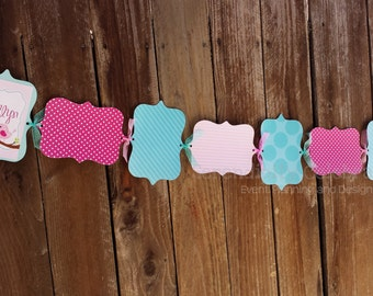 Monthly Photo Banner, Personalized, Sweet Tweet -1st Birthday-Milestone Photo Banner -Made to Match -Photo Prop -Party Banner -Birdie Banner