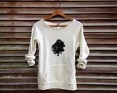 sittin under the Oak Tree Sweatshirt, Camping Top, Tree Sweater, Eco Friendly,  S,M,L, XL,2XL