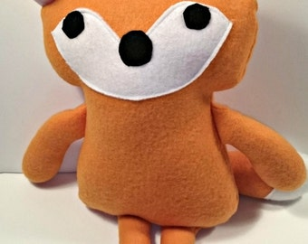Stuffed animal Fox , Toy Fox , Kid toy, baby toy, holiday gift for child, Fox Plushie