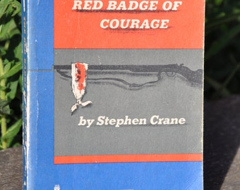 The Red Badge of Courage by Stephen Crane 1962, historical fiction