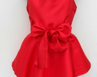 Girl Toddler Taffeta Party Christmas Dress......Handmade in Ireland