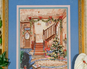 Marty Bell | Counted Cross Stitch Pattern | READY FOR CHRISTMAS | Adaptation | Mildred Hinnant Hedgepath | Pegasus Publication
