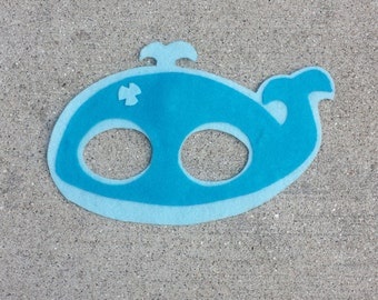Whale Mask Etsy
